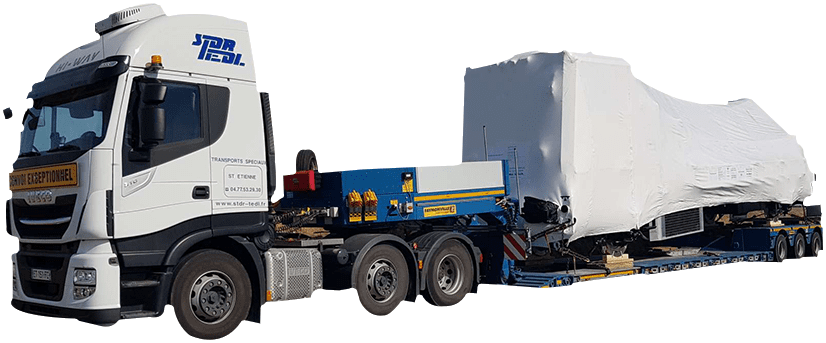 Camion Convoi Exceptionnel STDR TEDL